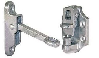 Aluminium Door Hold Back - 5in