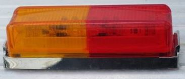 LED Clearance Light with Base - Red / Amber